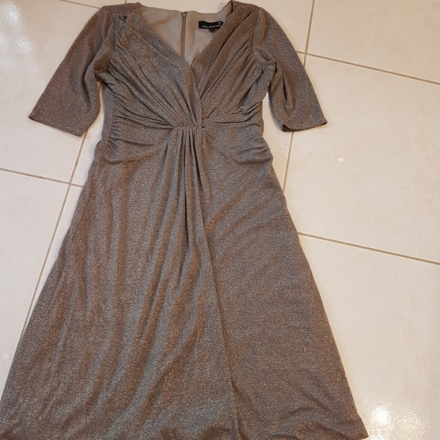 Laura Petite size 10 shimmer dress