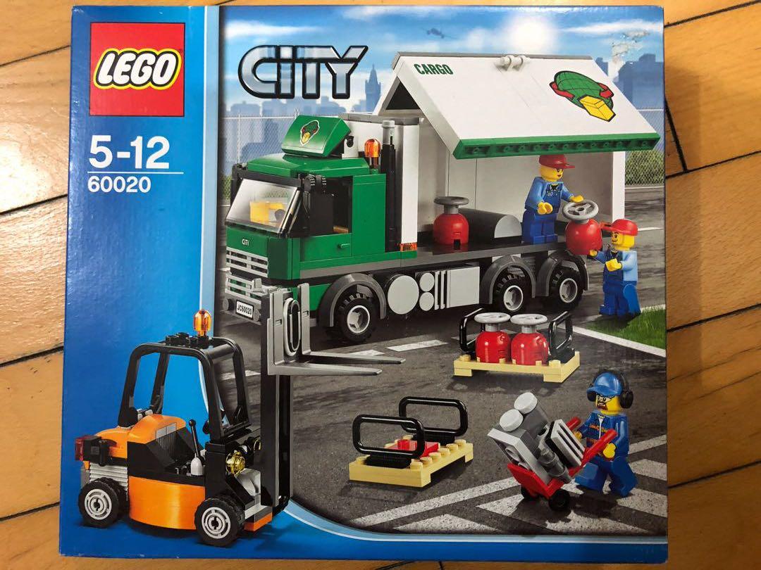 LEGO 60020 全新未開
