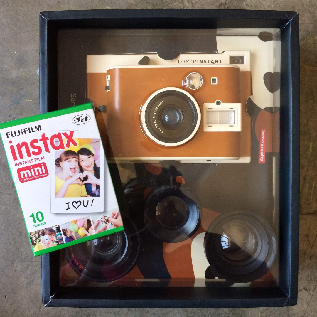 Lomography Instant Camera Sanremo Edition With Lenses Kamera Di Carousell