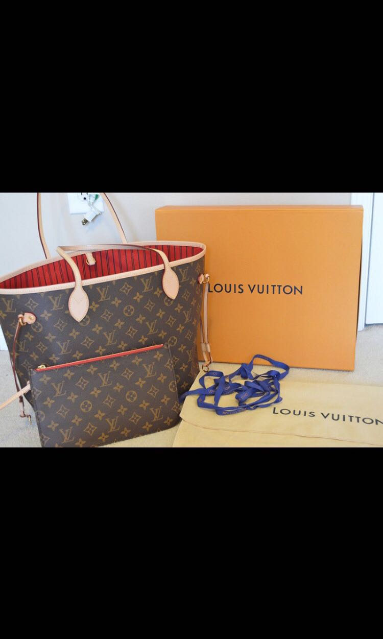 Louis Vuitton Authentic Neverfull Bag