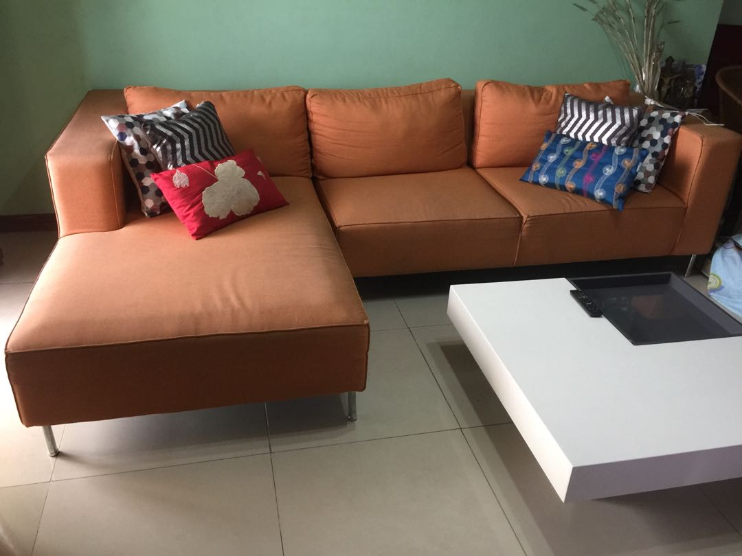 Mandaue Foam Sofa Set Home Amp Furniture On Carousell