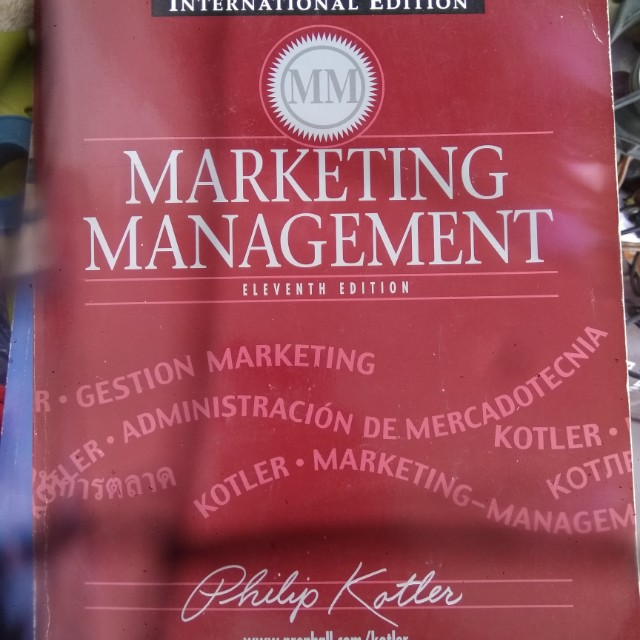 Marketing management by philip kotler pdf 11th edition download.