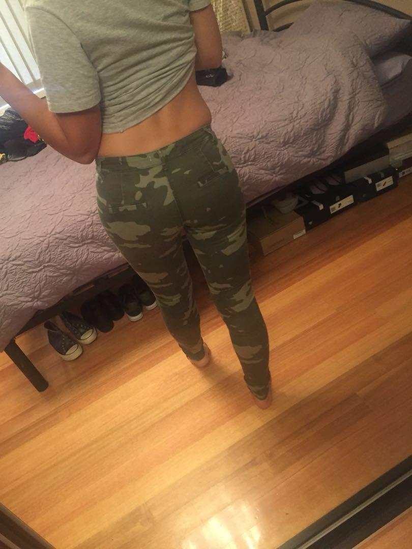 Miss Shop camo pants