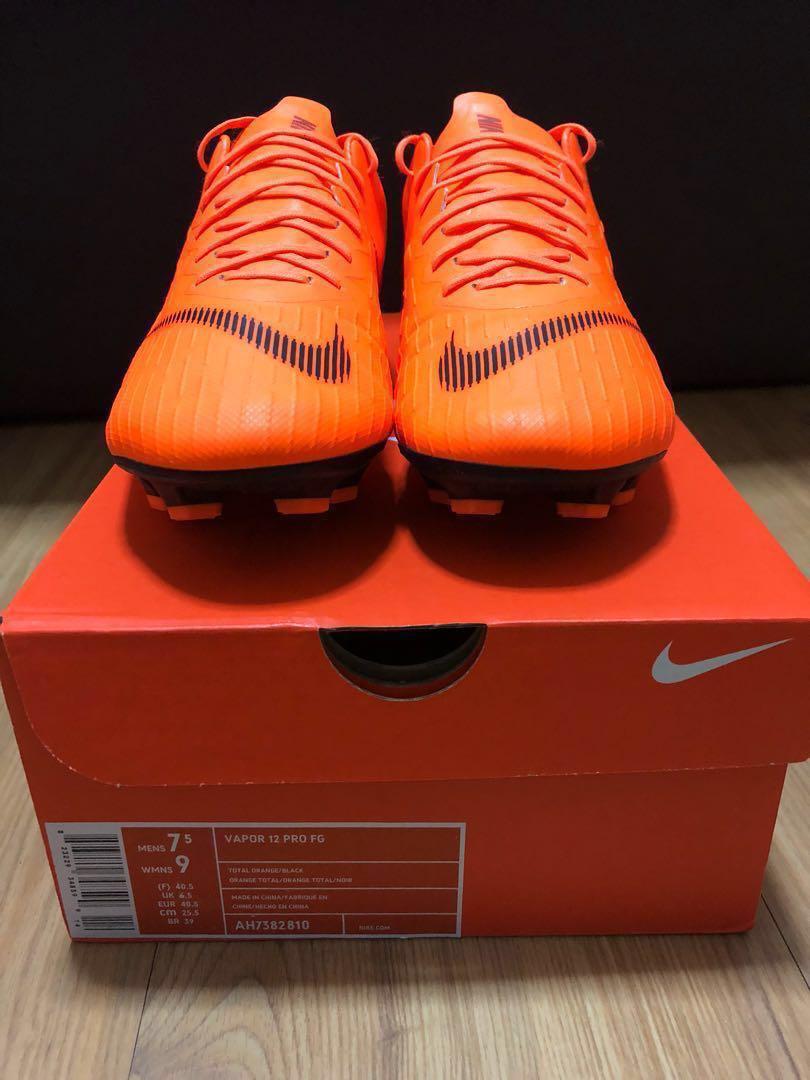 Nike Mercurial Vapor 12 Pro FG - US 7.5 de76511cde9d6
