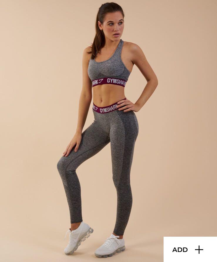 b97276b301ed4 ️On Hand Bnew‼ Gymshark Flex Leggings in Deep Plum Full Length ...