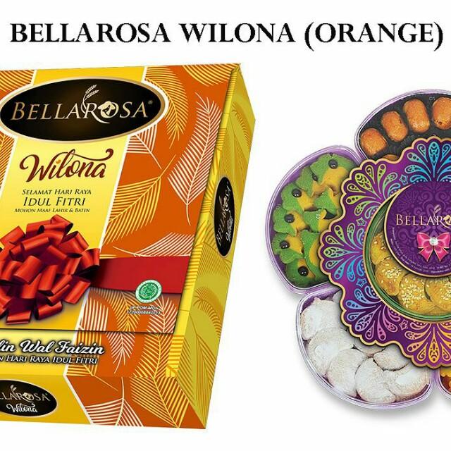 Paket Kue Lebaran Bellarosa Wilona, Food & Drinks, Baked Goods on Carousell