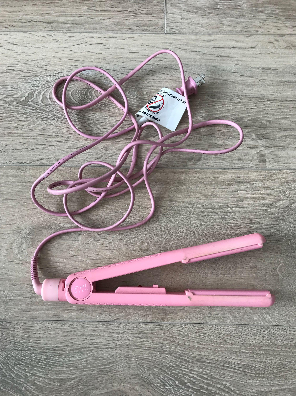 Pink FHI Hair Straightener