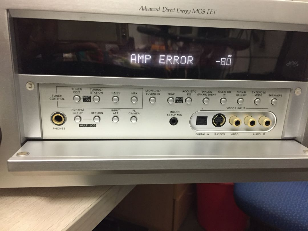 Pioneer faulty AV receiver, Electronics, Audio on Carousell