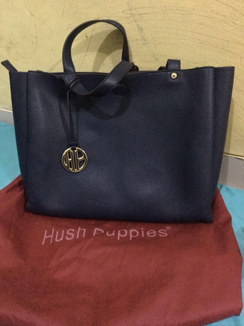 Preloved Hush Puppies Navy 0eb4da63de