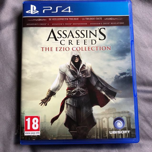 Ps4 Game Assassin S Creed The Ezio Collection Toys Games