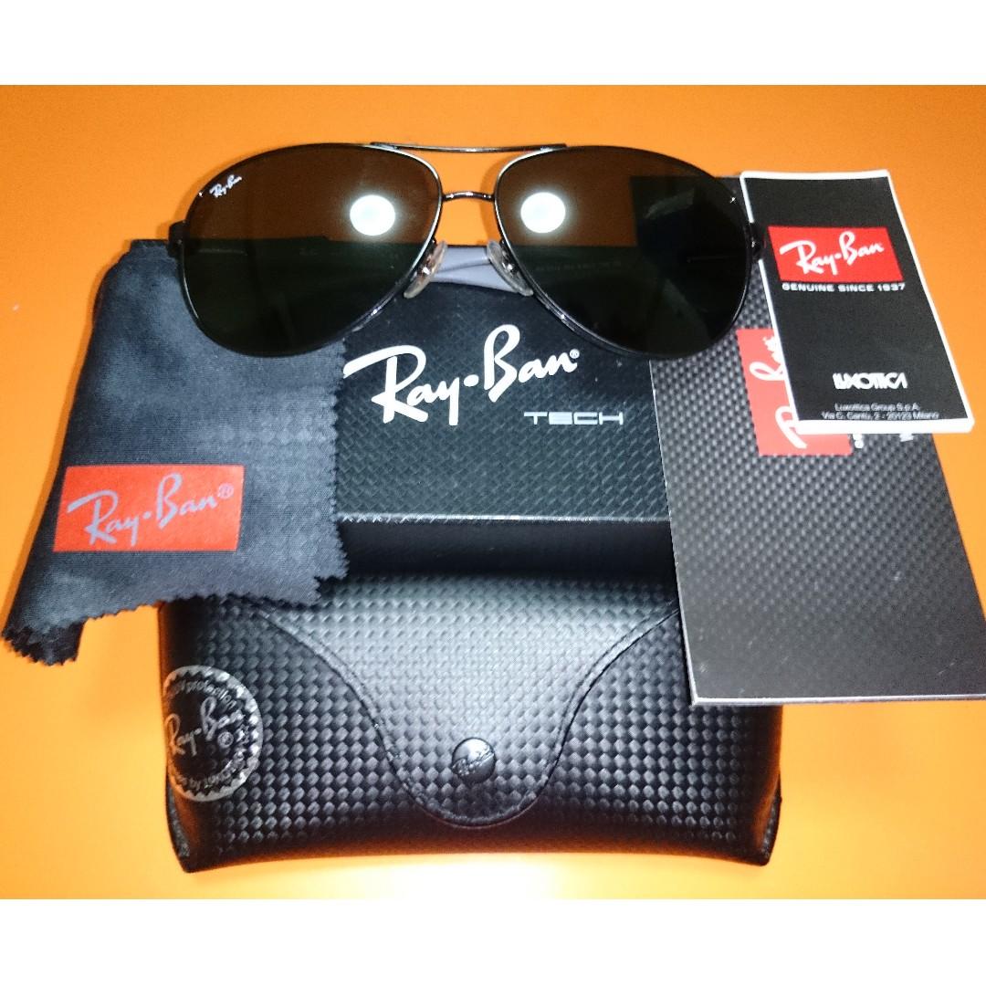 de9896d0675 Rayban Carbon Fibre RB8313 002 61-13
