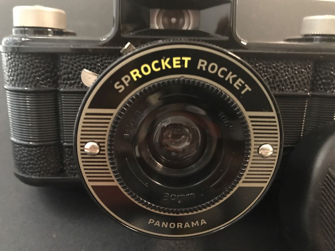 Sprocket Rocket Camera : Sprocket rocket mm film panoramic camera photography on carousell