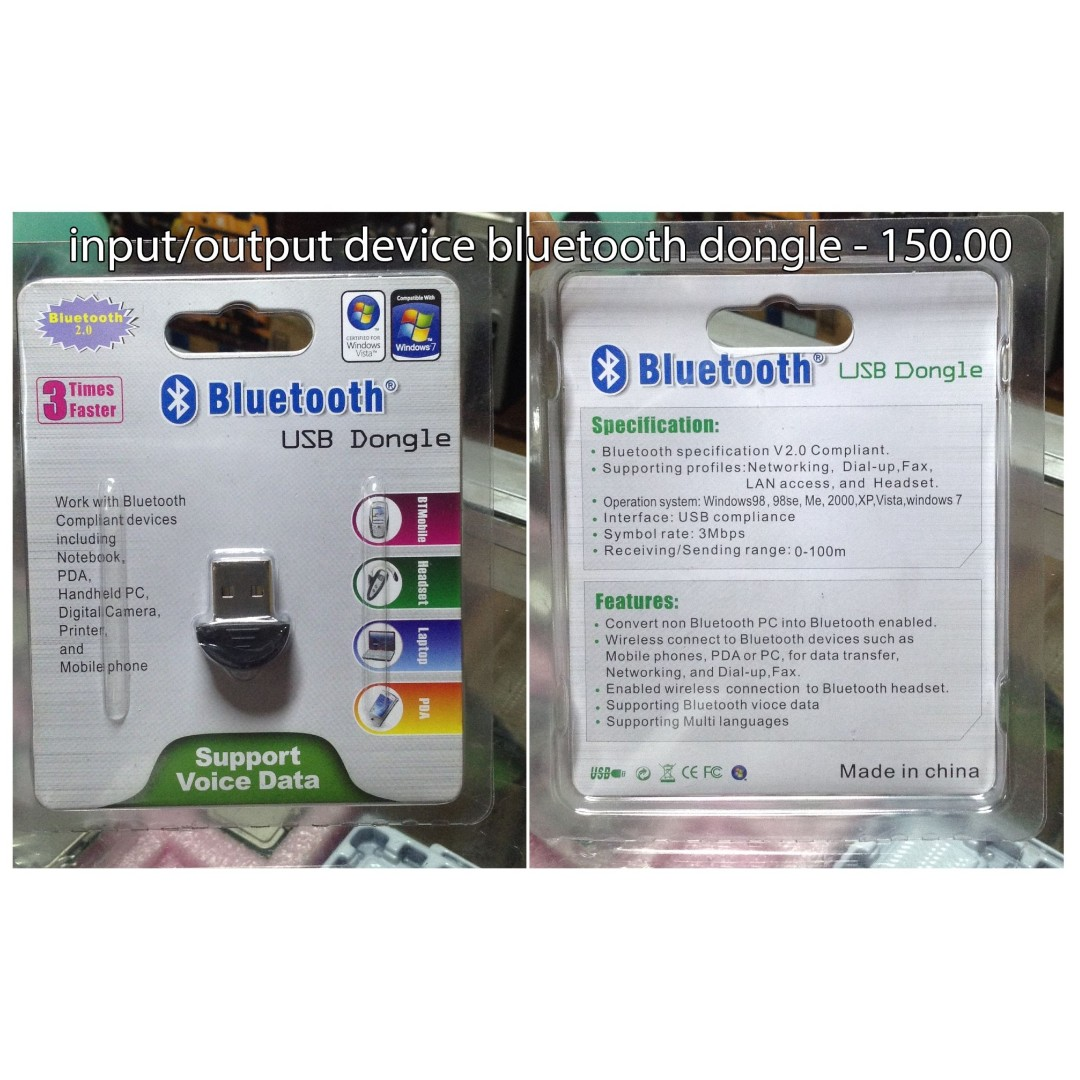 Usb Bluetooth Dongle Electronics Computer Parts Accessories On V20 Carousell