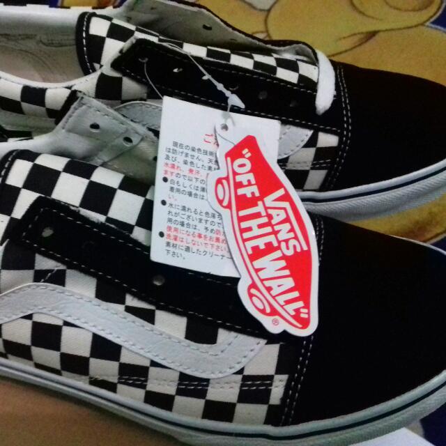 Vans Oldskool Checkerboard Japan Market 4c2067587