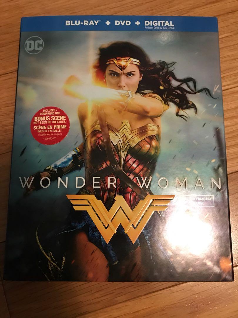 Wonder Woman DVD + Bluray