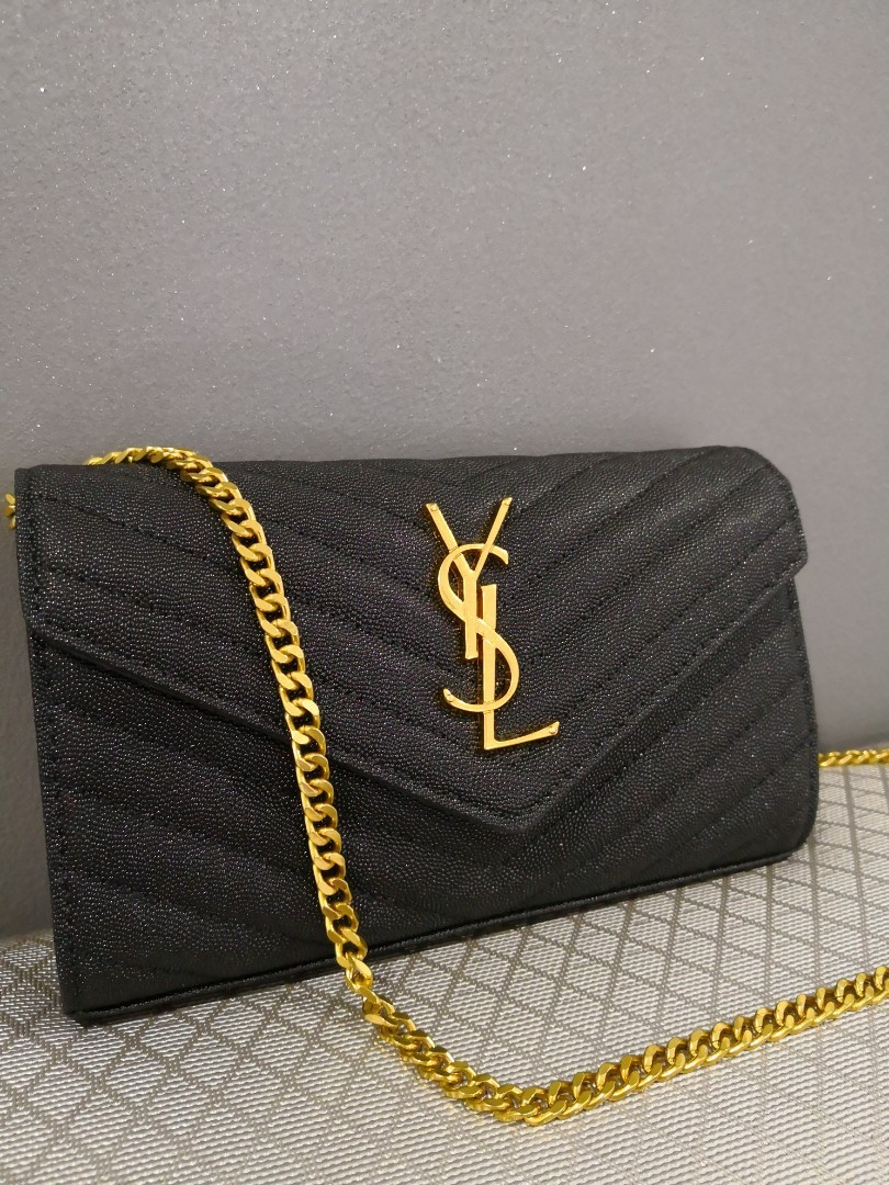 d3f8245c191 YSL WOC caviar leather, Women's Fashion, Bags & Wallets on Carousell