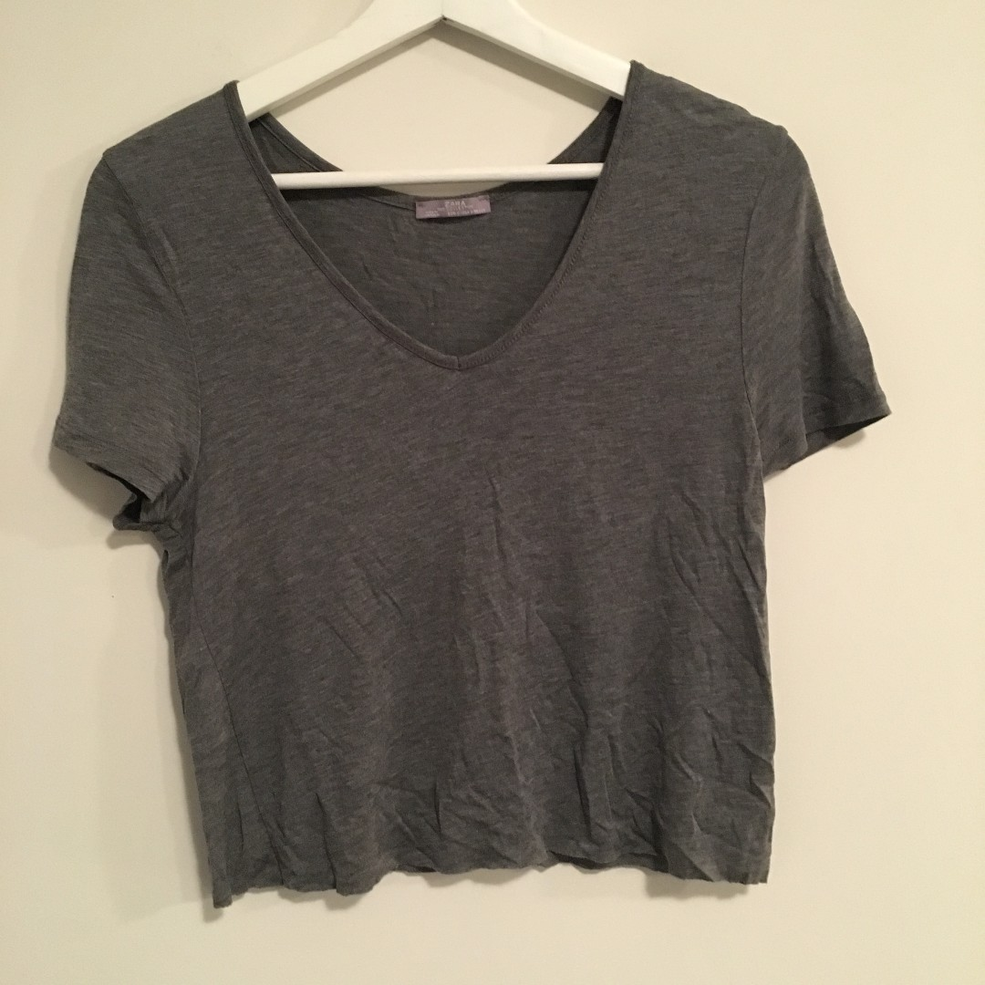 Zara Cropped t shirt