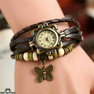Weave bracelet watch