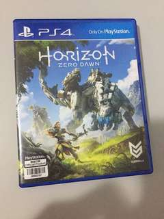 (PS4) Horizon Zero Dawn