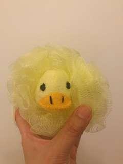 Yellow Duckie Loofah