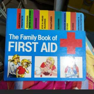 The first Aid book