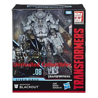 [In hand] Hasbro Transformers Studio Series (TSS) Leader Class - Blackout and Grimlock