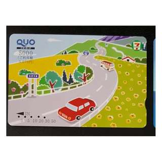 (HA63) 日本 火車 地鐵 車票 MTR TRAIN TICKET (QUO CARD), $8