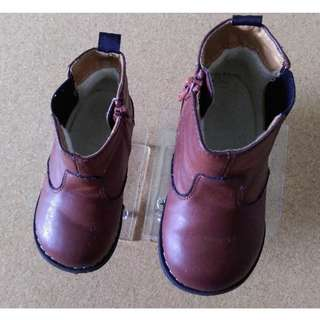 H&M Baby Kids Shoes Boots Brown Euro 24 / US 7.5