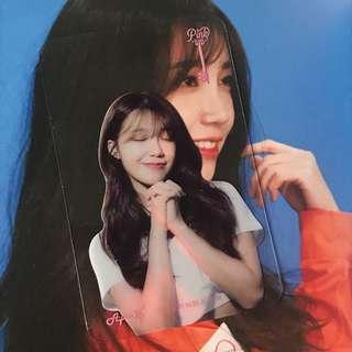 包郵*Apink Pinkup Eunji 鄭恩地透明小卡