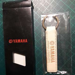 🚚 日本YAMAHA正品真皮鑰匙圈