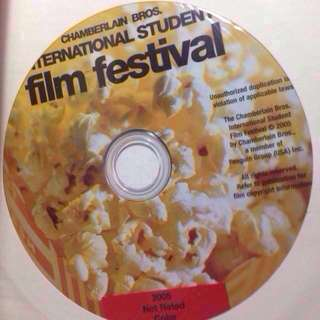Chamberlain International Student Film Festival Book & DVD bundle