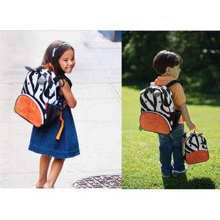 (SH 01) Ori Skip Hop Kids Zoo Backpack - Zebra (FREE SHIPPING)
