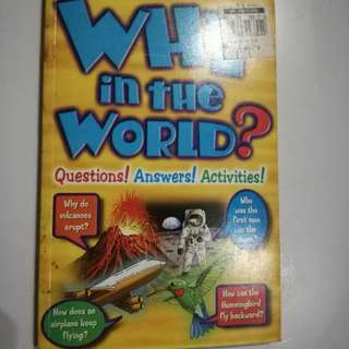 Why in the World? Children's Book