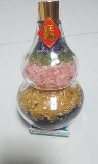 5型葫芦水晶碎