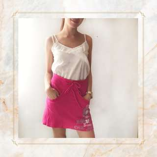 Guess Jeans Pink Skirt