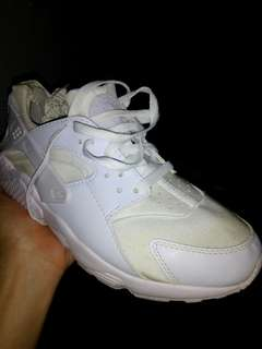 Nike Huarache All White