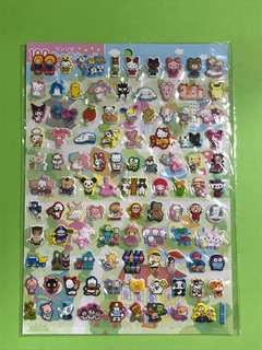 Sanrio characters 立體貼紙 包平郵📮