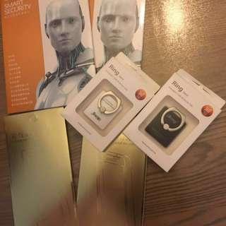 iPhone ring / sticker / pc virus
