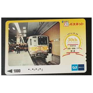 (HA63) 日本 火車 地鐵 車票 MTR TRAIN TICKET, $15
