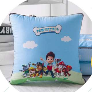 (PO) 2-in1 Paw Patrol Children Blanket Pillow