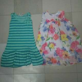 Set dresses for 3-4T