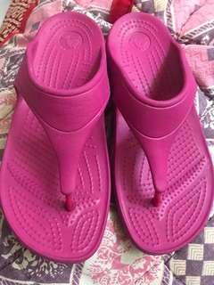Original Crocs Wedge Size 5