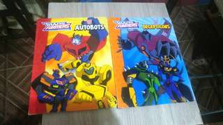 Transformers Animated Children's Books