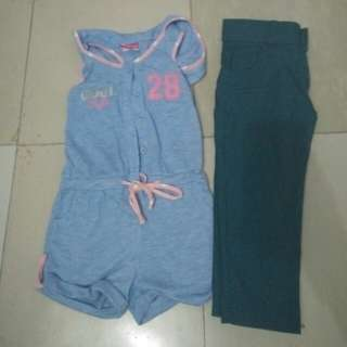 Set Romper and pants