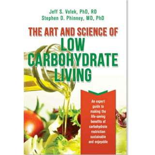 eBook - The Art and Science of Low Carbohydrate Living by Jeff Volek