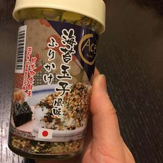 海苔玉子飯素 seaweed & egg flavour on rice