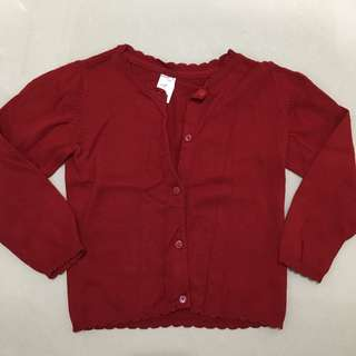 H&M Red Cardigan