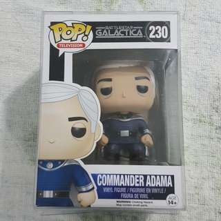 Legit Brand New With Box Funko Pop Television Battlestar Galactica Commander Adama Toy Figure