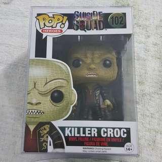 Legit Brand New With Box Funko Pop Heroes DC Comics Suicide Squad Killer Croc Toy Figure