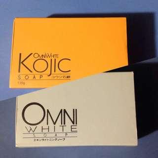 Omni White + Kojic Soap